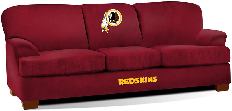 Washington Redskins First Team Microfiber Sofa