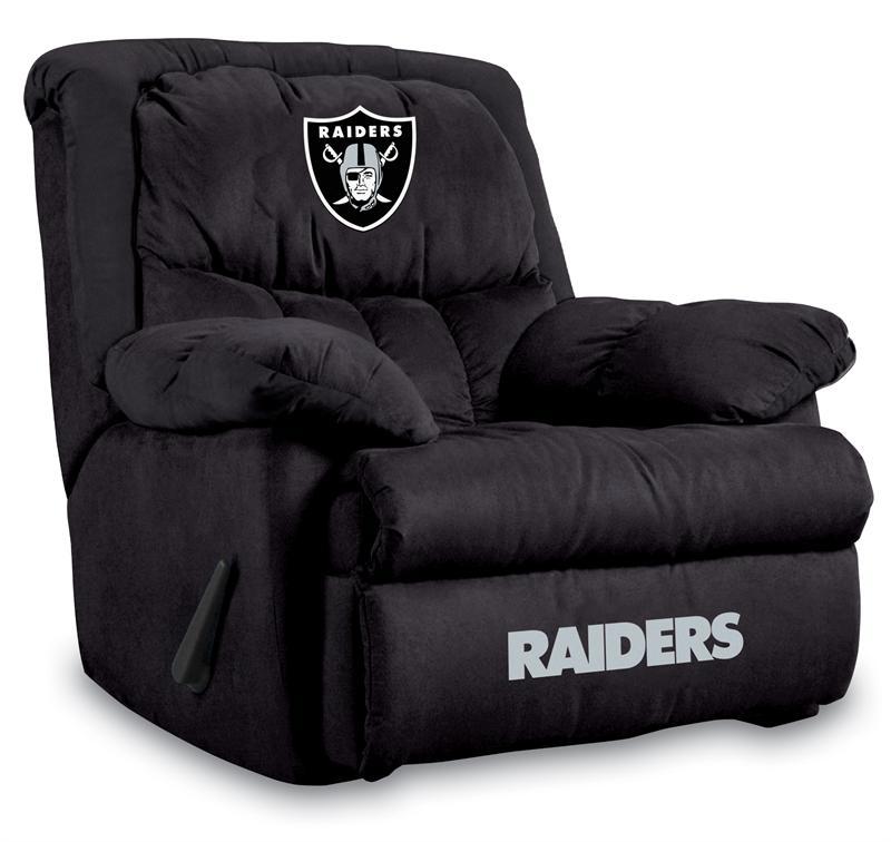 Oakland Raiders Home Team Recliner