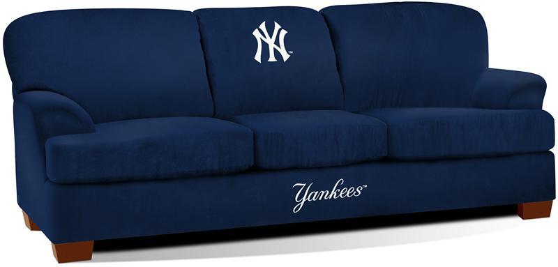 New York Yankees First Team Microfiber Sofa : 2052001FirstTeamSofaMLBYankees1 from www.gottabesports.com size 800 x 383 jpeg 20kB