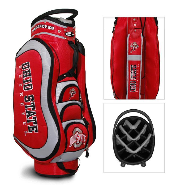 Ohio State Buckeyes Medalist Cart Golf Bag