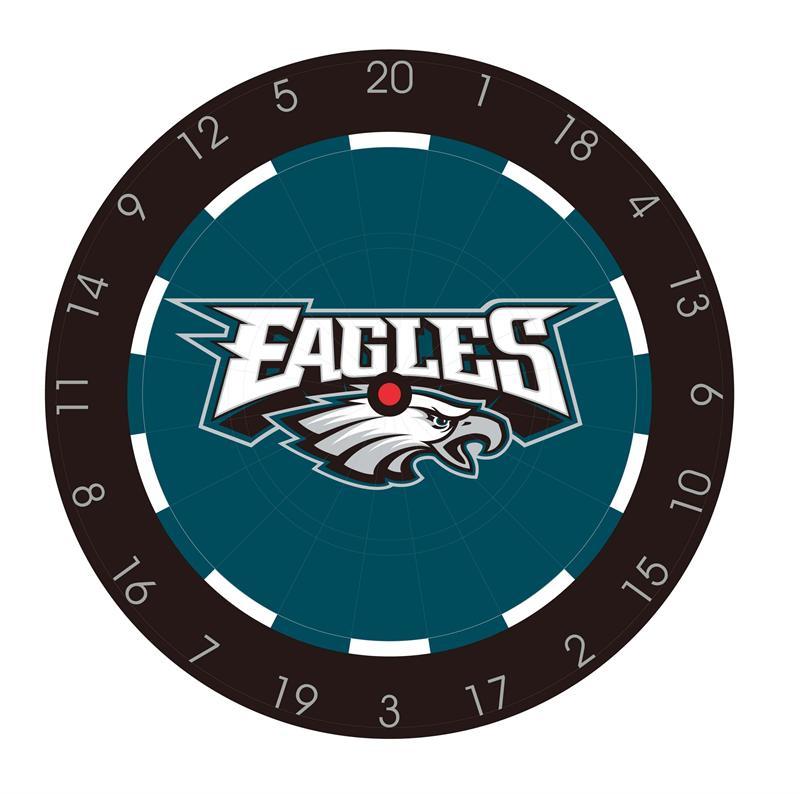 Philadelphia Eagles Bristle Dart Board