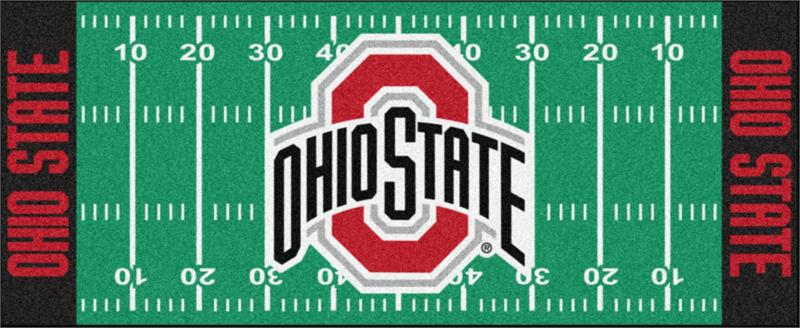 Ohio State Buckeyes Football Field Runner Mat