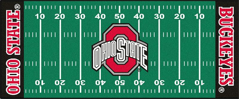 Ohio State Buckeyes Football Field Runner Mat : 7340 from www.gottabesports.com size 800 x 334 jpeg 62kB