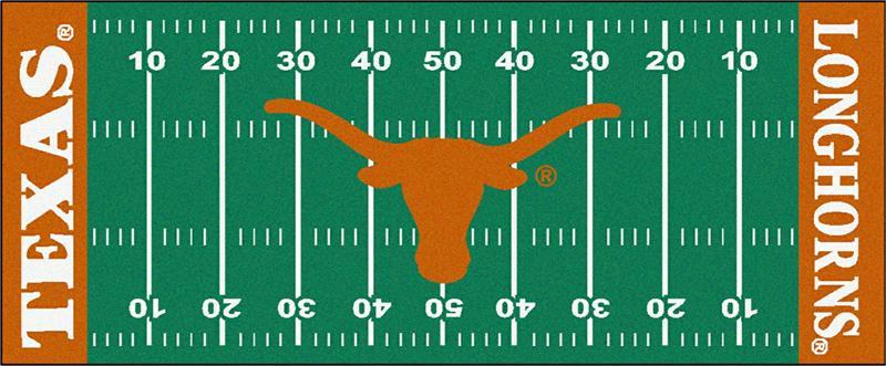 Texas Longhorns Football Field Runner Mat
