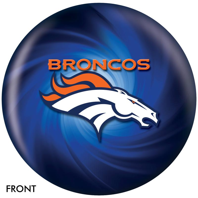 Denver Broncos Bowling Ball