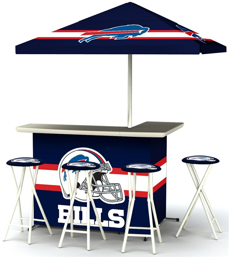 Buffalo Bills Deluxe Portable Tailgate Bar Set