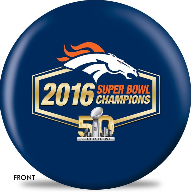 Denver Broncos Super Bowl 50 Champions Bowling Ball