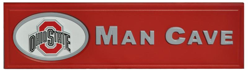 Man Caves Holland Ohio : Ohio state buckeyes man cave sign