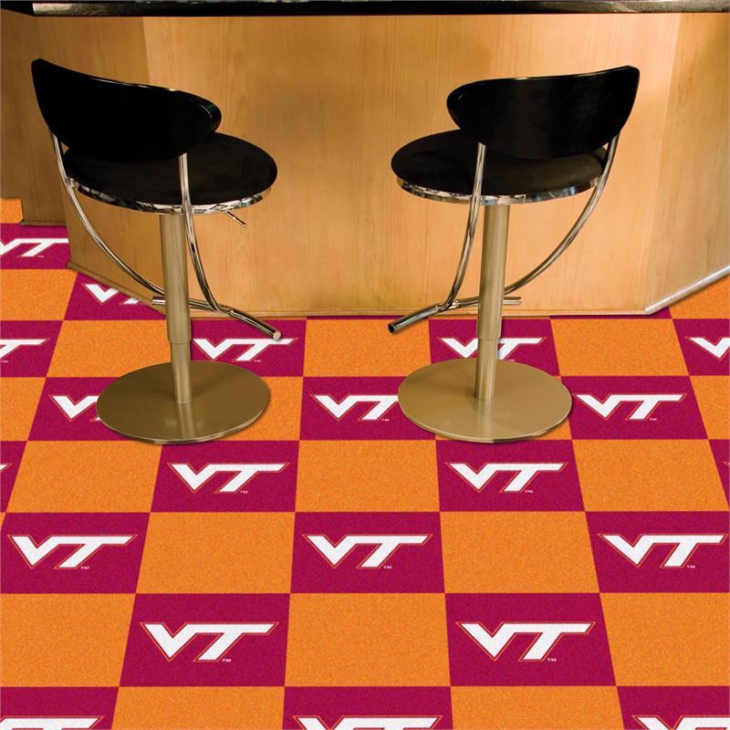 Virginia Tech Hokies Carpet Tiles