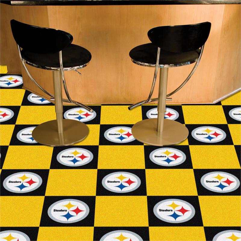 Pittsburgh Steelers Carpet Tiles