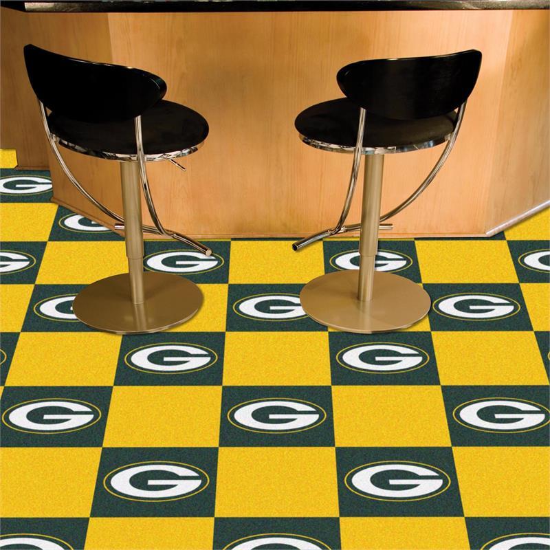 Green Bay Packers Carpet Tiles