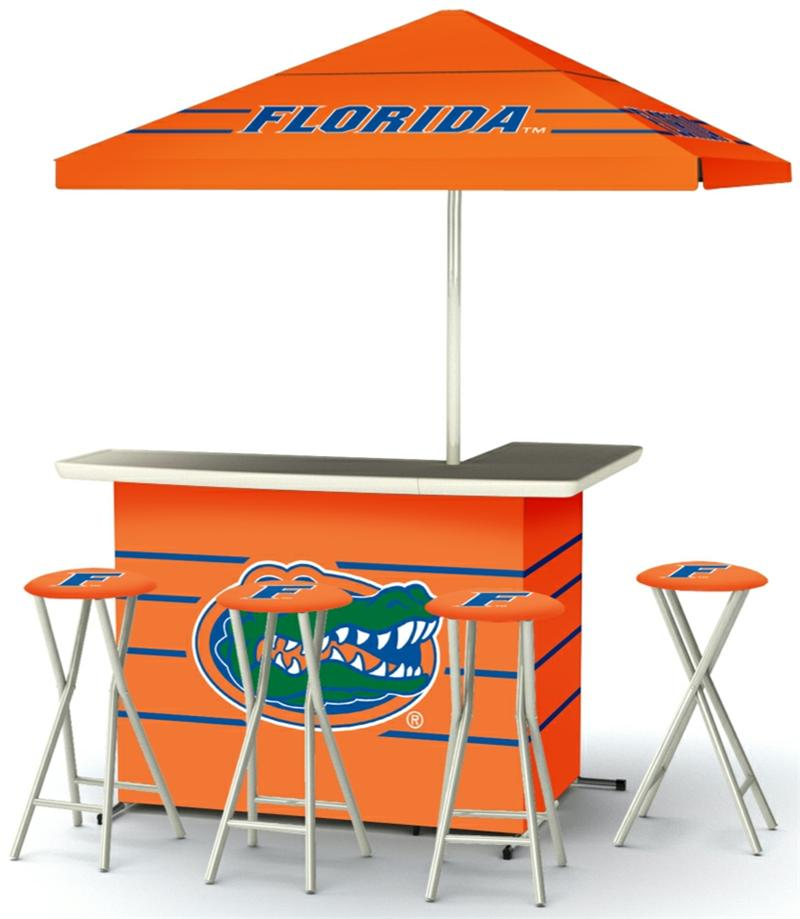 Florida Gators Deluxe Portable Tailgate Bar Set