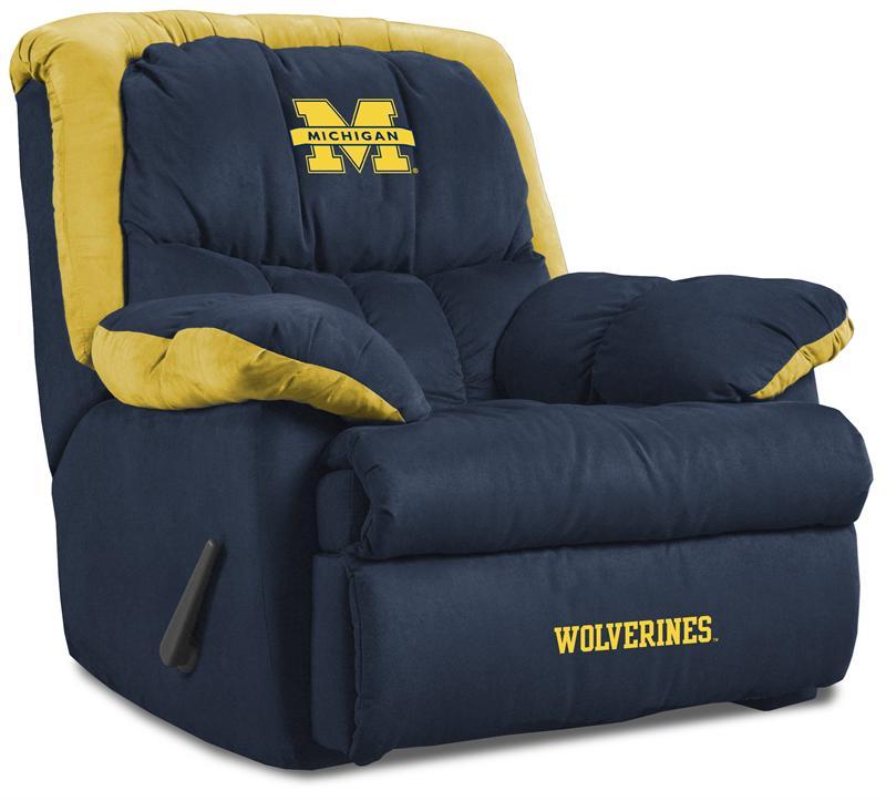 Michigan Wolverines Home Team Recliner