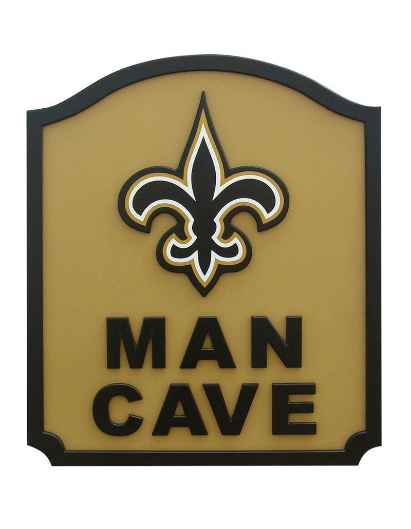 New Orleans Saints Man Cave Shield