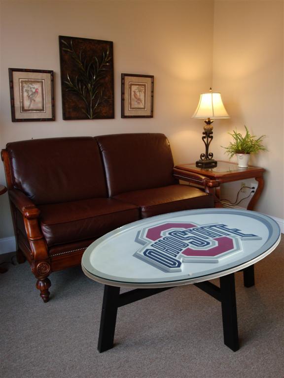 Ohio State Buckeyes Coffee Table