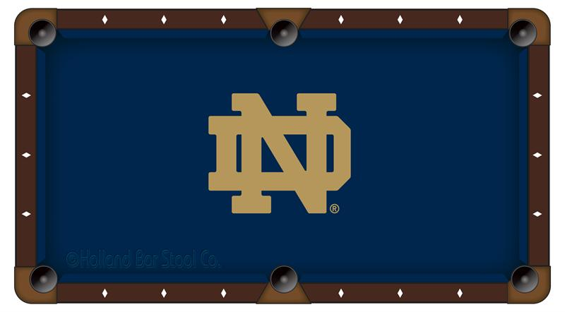 Notre Dame Fighting Irish Pool Table Cloth