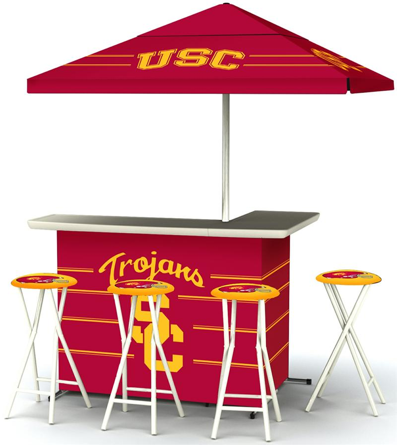 USC Trojans Deluxe Portable Tailgate Bar Set : USC2003W1114 from gottabesports.com size 800 x 895 jpeg 63kB