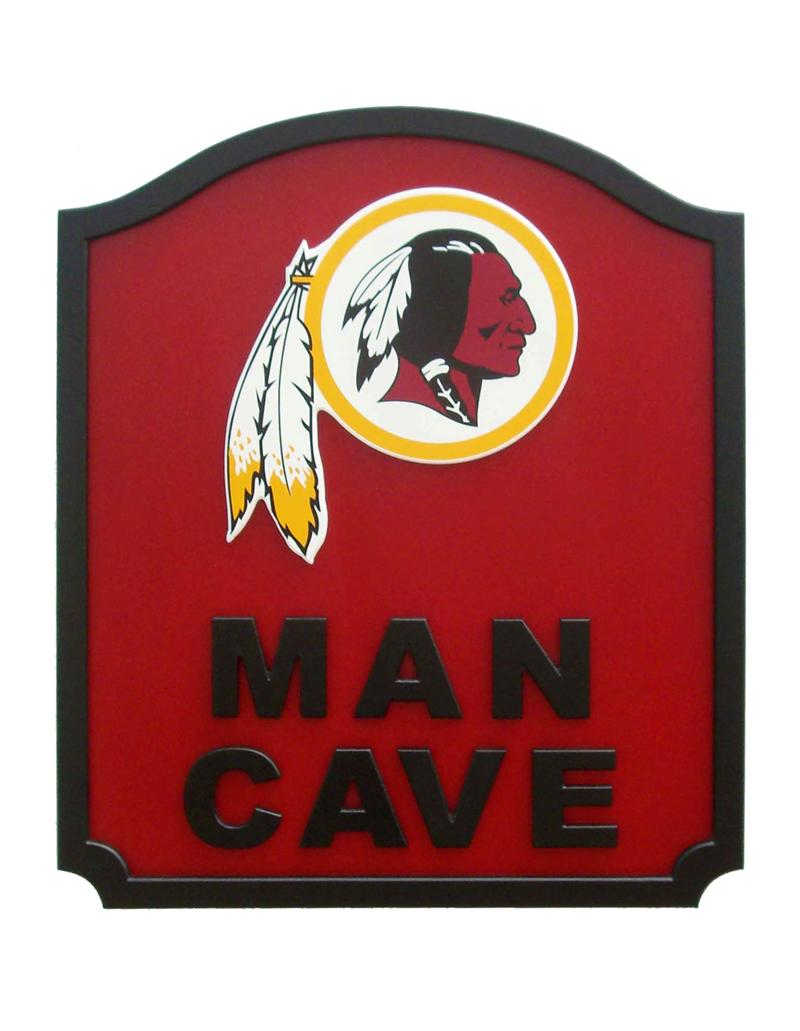 Washington Redskins Man Cave Shield