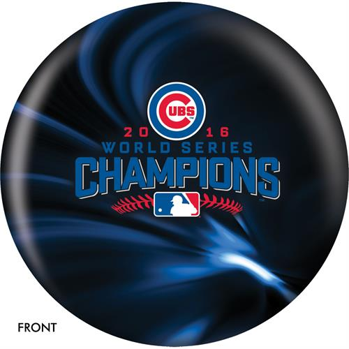 Chicago Cubs 2016 World Series Champions Bowling Ball