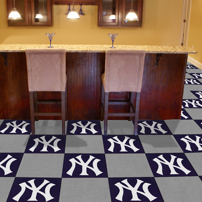 New York Yankees Carpet Tile Set