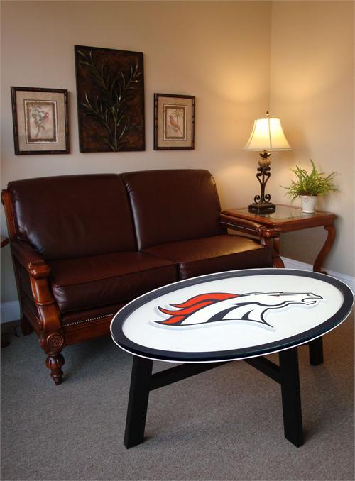 Denver Broncos Coffee Table