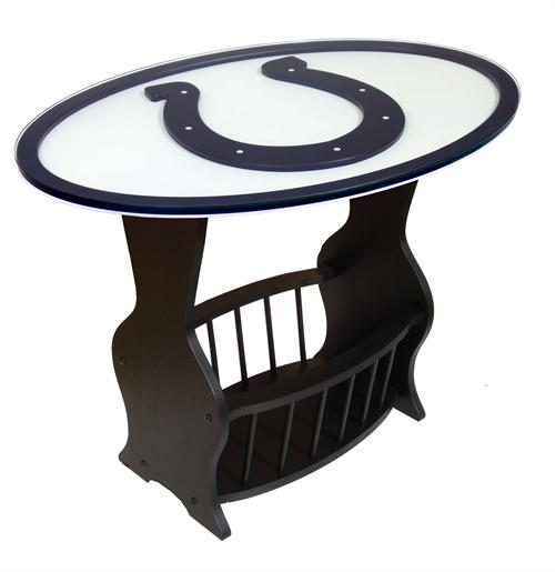 Indianapolis Colts Logo End Table