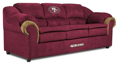 San Francisco 49ers Pub Sofa