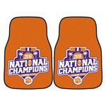 Clemson Tigers 2016 CFP Champions Carpet Car Mats