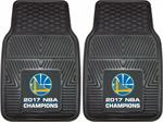 Golden State Warriors 2017 NBA Champions Vinyl Car Mats