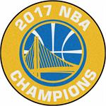 Golden State Warriors 2017 NBA Champions Basketball Mat