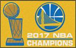 Golden State Warriors 2017 NBA Champions Starter Mat