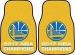 Golden State Warriors 2017 NBA Champions Carpet Car Mats
