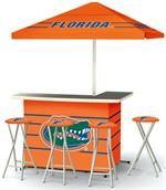 Florida Gators Deluxe Portable Tailgate Bar Set