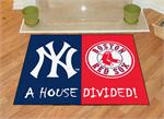 New York Yankees-Boston Red Sox House Divided Mat