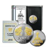 Super Bowl XLVII Official 2 Tone Flip Coin