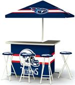 Tennessee Titans Deluxe Portable Tailgate Bar Set