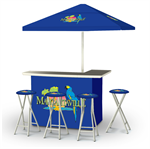 Margaritaville Deluxe Portable Tailgate Bar Set