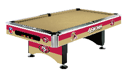 NFL Team Logo Pool Tables