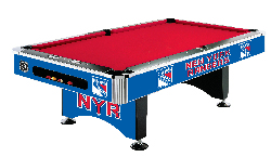 NHL Team Logo Pool Tables