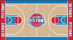 NBA Basketball Court Runner Mats