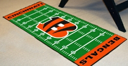 NFL Football Field Runner Mats