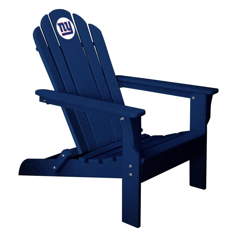 Phenomenal New York Giants Folding Adirondack Chair Ocoug Best Dining Table And Chair Ideas Images Ocougorg