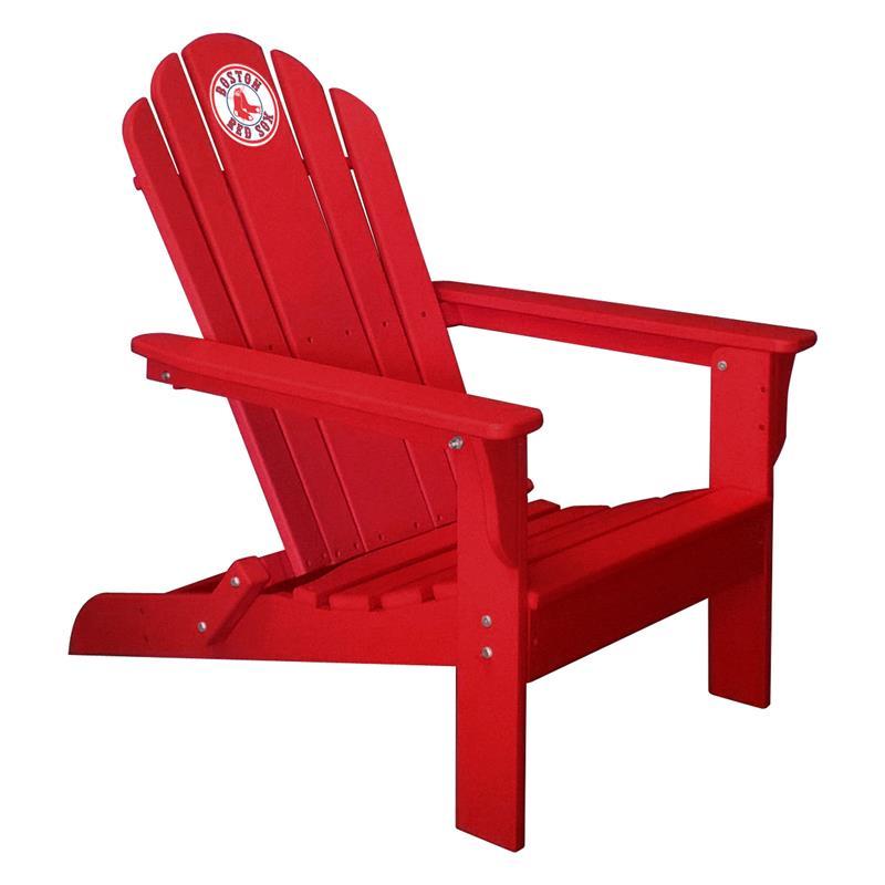 Boston Red Sox Red Folding Adirondack Chair