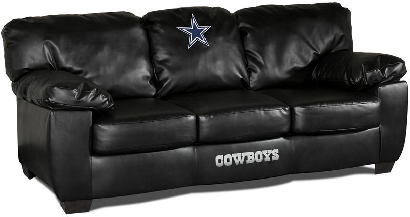 Dallas Cowboys Leather Classic Sofa