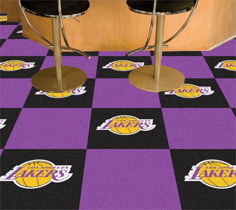 Los Angeles Lakers Carpet Tiles