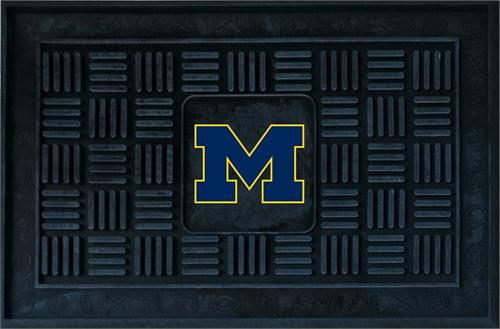 Michigan Wolverines Medallion Door Mat