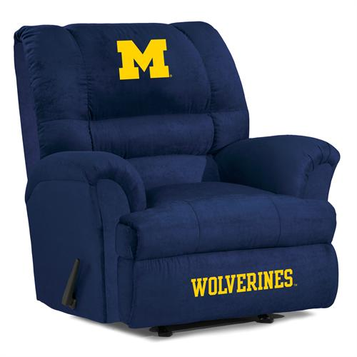 Michigan Wolverines Big Daddy Recliner