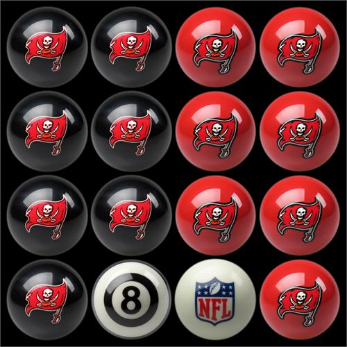 Tampa Bay Buccaneers Pool Balls