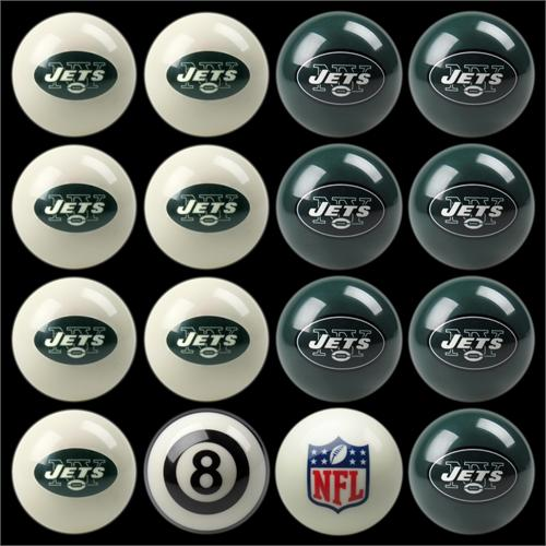 New York Jets Pool Balls