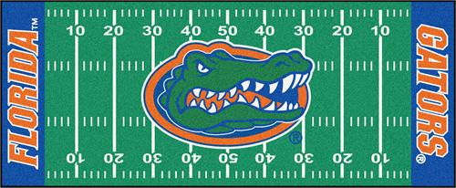 Florida Gators Football Field Runner Mat